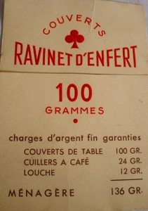 couverts RD-100g